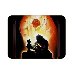 Beauty And The Beast Double Sided Flano Blanket (Mini)