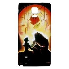 Beauty And The Beast Galaxy Note 4 Back Case