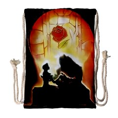 Beauty And The Beast Drawstring Bag (Large)