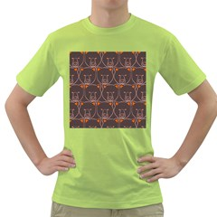 Bears Pattern Green T Shirt