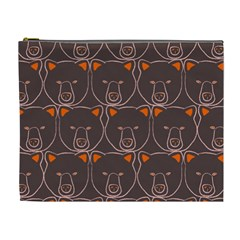 Bears Pattern Cosmetic Bag (xl)