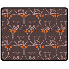 Bears Pattern Fleece Blanket (Medium)