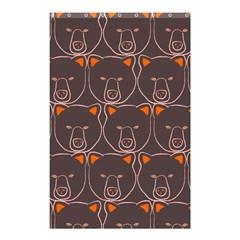 Bears Pattern Shower Curtain 48  x 72  (Small)
