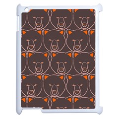 Bears Pattern Apple Ipad 2 Case (white)