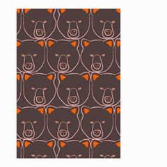 Bears Pattern Small Garden Flag (Two Sides)