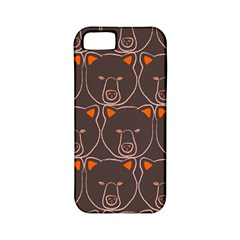 Bears Pattern Apple Iphone 5 Classic Hardshell Case (pc+silicone)