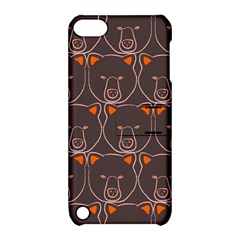 Bears Pattern Apple Ipod Touch 5 Hardshell Case With Stand