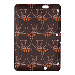 Bears Pattern Kindle Fire HDX 8.9  Hardshell Case