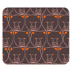 Bears Pattern Double Sided Flano Blanket (Small)