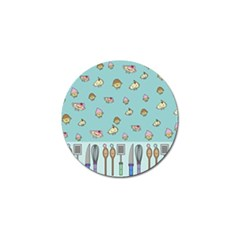 Kawaii Kitchen Border Golf Ball Marker (10 Pack)