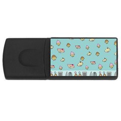 Kawaii Kitchen Border USB Flash Drive Rectangular (1 GB)