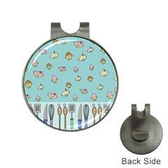 Kawaii Kitchen Border Hat Clips With Golf Markers