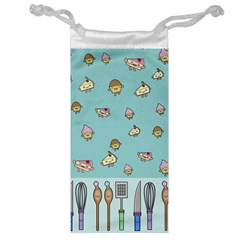 Kawaii Kitchen Border Jewelry Bag