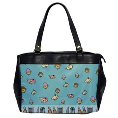Kawaii Kitchen Border Office Handbags