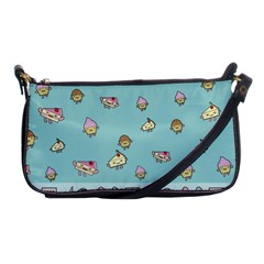 Kawaii Kitchen Border Shoulder Clutch Bags