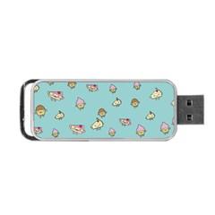 Kawaii Kitchen Border Portable Usb Flash (one Side)