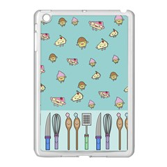 Kawaii Kitchen Border Apple Ipad Mini Case (white)