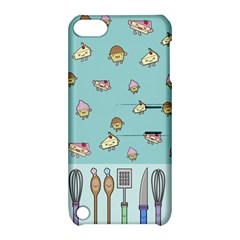 Kawaii Kitchen Border Apple Ipod Touch 5 Hardshell Case With Stand