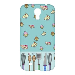 Kawaii Kitchen Border Samsung Galaxy S4 I9500/i9505 Hardshell Case