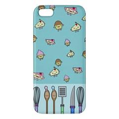 Kawaii Kitchen Border Iphone 5s/ Se Premium Hardshell Case