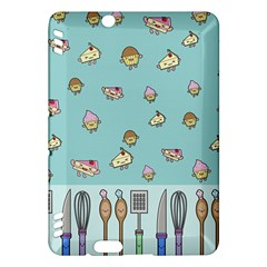 Kawaii Kitchen Border Kindle Fire Hdx Hardshell Case