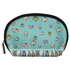 Kawaii Kitchen Border Accessory Pouches (large)