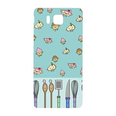 Kawaii Kitchen Border Samsung Galaxy Alpha Hardshell Back Case