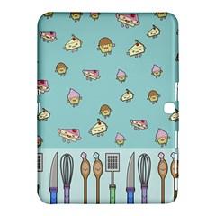 Kawaii Kitchen Border Samsung Galaxy Tab 4 (10 1 ) Hardshell Case