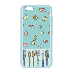 Kawaii Kitchen Border Apple Seamless iPhone 6/6S Case (Color)