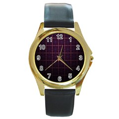 Best Pattern Wallpapers Round Gold Metal Watch
