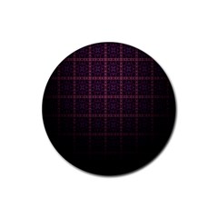 Best Pattern Wallpapers Rubber Coaster (round)