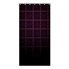 Best Pattern Wallpapers Shower Curtain 36  x 72  (Stall)