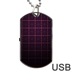 Best Pattern Wallpapers Dog Tag Usb Flash (two Sides)