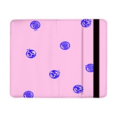 Star Space Balloon Moon Blue Pink Circle Round Polkadot Samsung Galaxy Tab Pro 8 4  Flip Case