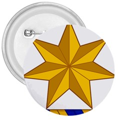 Star Yellow Blue 3  Buttons