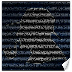 Sherlock Quotes Canvas 20  x 20