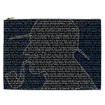 Sherlock Quotes Cosmetic Bag (XXL)  Front