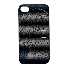 Sherlock Quotes Apple iPhone 4/4S Hardshell Case with Stand
