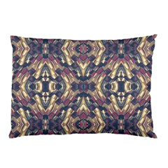 Multicolored Modern Geometric Pattern Pillow Case