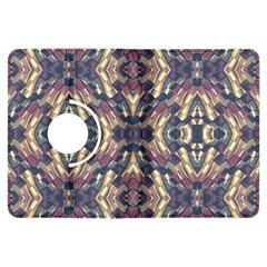 Multicolored Modern Geometric Pattern Kindle Fire HDX Flip 360 Case