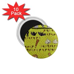 Horror Vampire Kawaii 1.75  Magnets (10 pack)