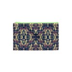 Multicolored Modern Geometric Pattern Cosmetic Bag (XS) Front