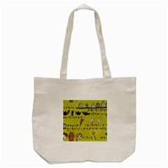 Horror Vampire Kawaii Tote Bag (Cream)