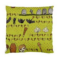 Horror Vampire Kawaii Standard Cushion Case (One Side)