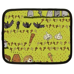 Horror Vampire Kawaii Netbook Case (XXL)