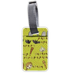 Horror Vampire Kawaii Luggage Tags (Two Sides)