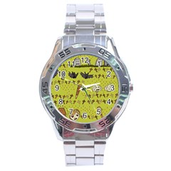 Horror Vampire Kawaii Stainless Steel Analogue Watch