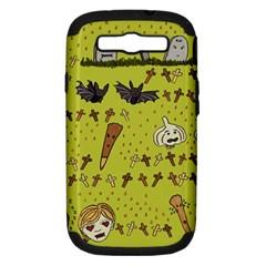 Horror Vampire Kawaii Samsung Galaxy S Iii Hardshell Case (pc+silicone)