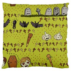 Horror Vampire Kawaii Standard Flano Cushion Case (two Sides)