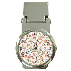 Cute Owl Money Clip Watches